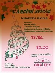 Adventní zpívání Lomec