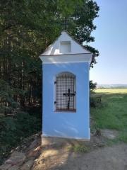 Obnova kapličky v Řevňovicích