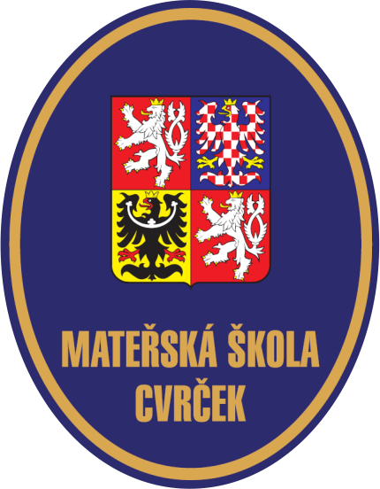 znak Mateřská škola Cvrček