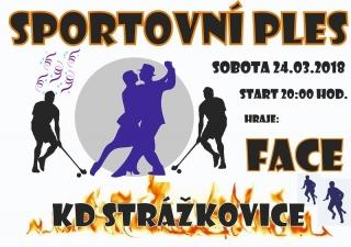 Sportovní ples - KD Strážkovice