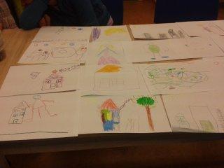 Návštěva dětí Mateřská škola Cvrček v knihovně