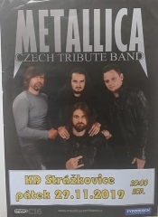 Metallica Czech Tribute Band - KD Strážkovice