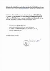 Volby do PS parlamentu České republiky