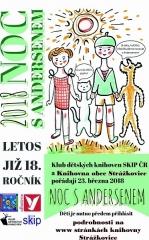 18. ročník Noc s Andersenem 2018