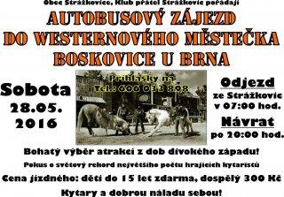 Výlet do westernového městečka Boskovice u Brna