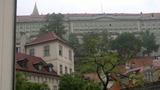 Pražký hrad pohled z terasy PS ČR